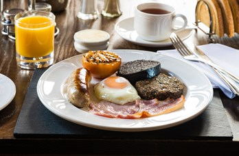 Breakfast Dish at Loch Fyne Hotel & Spa