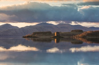 Castle Stalker near Oban Bay Hotel