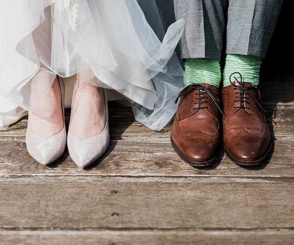 Wedding Shoes at Thainstone House