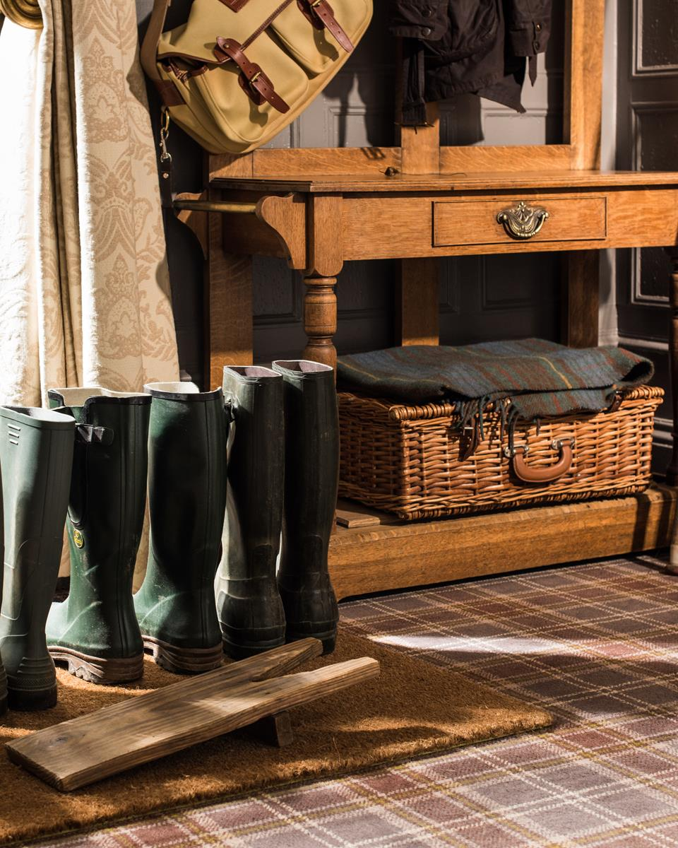 Welly Boots & Fishing Equipment at The Deeside Inn
