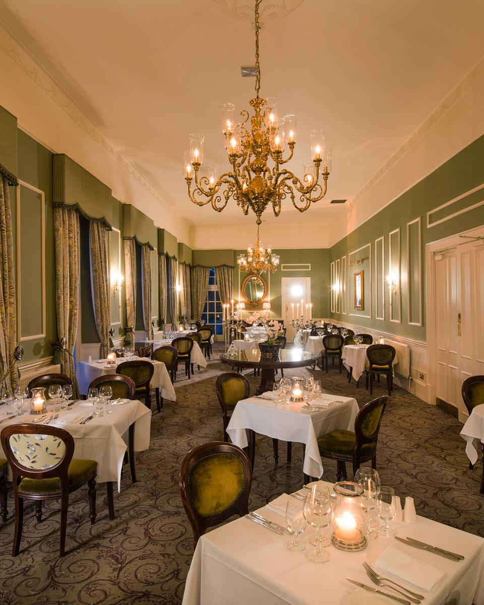 The Green Lady Restaurant at Thainstone House