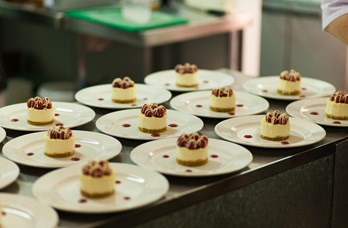 Wedding Desserts at Thainstone House