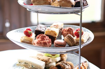 Afternoon Tea Selection at Golf View Hotel