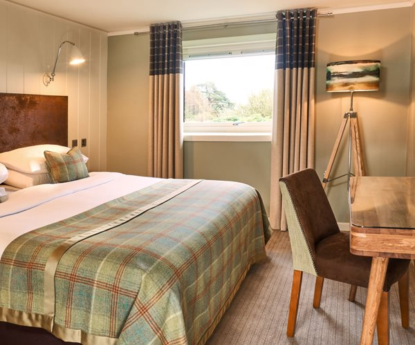 Sea View Bedroom at Isle Of Mull Hotel & Spa