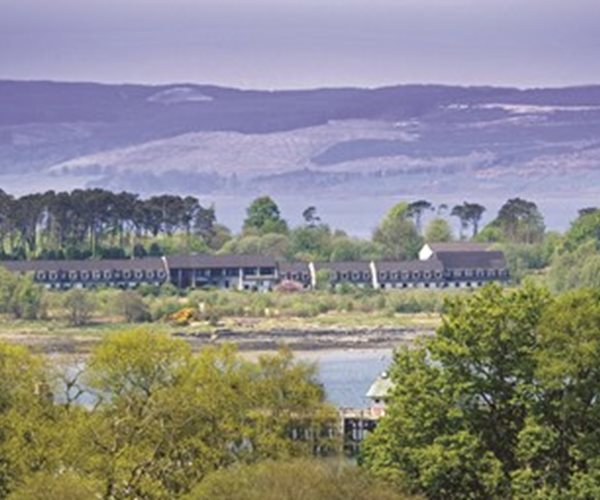 Isle Of Mull Hotel & Spa From The Hills