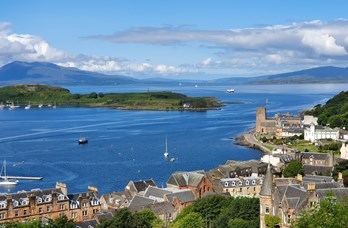 View of Oban from McCaig's Tower