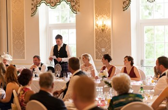 Wedding Speech at Thainstone House