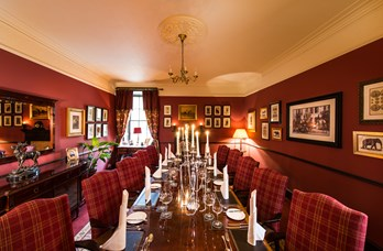 Private Dining at Thainstone House