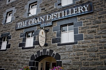 The Oban Distillery near Oban Bay Hotel