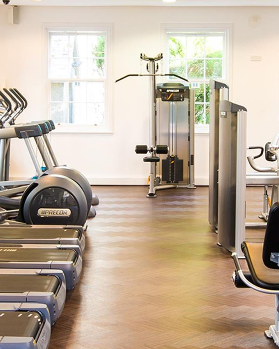 Gym at Thainstone House