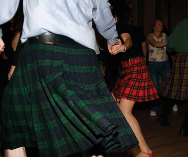 Ceilidh Dancing at Thainstone House